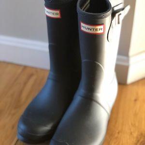 Hunter Foldable Tour Short Rainboots